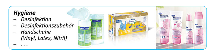 Banner Hygieneartikel MEDiCleverCare